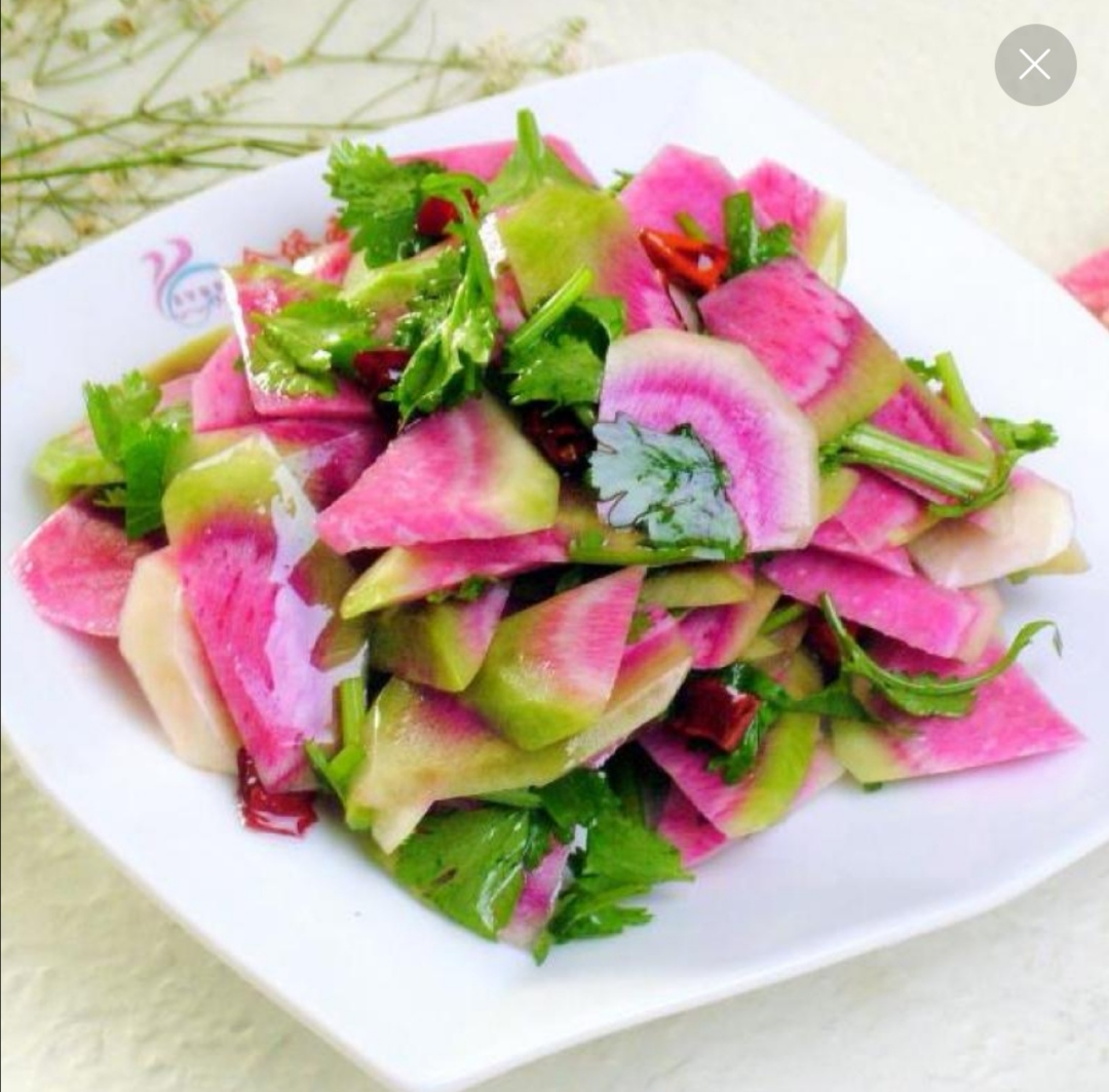 拌萝卜皮 Mixed Radish Peel