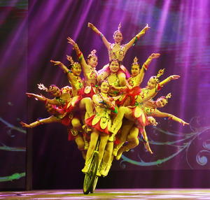 Acrobatics At Beijing Chaoyang Theater