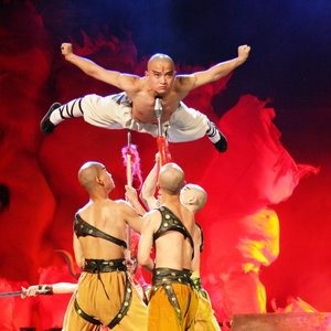 Beijing Kungfu Show At Red Theater